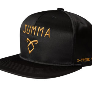 CASQUETTE SNAPBACK BLACK AND GOLD