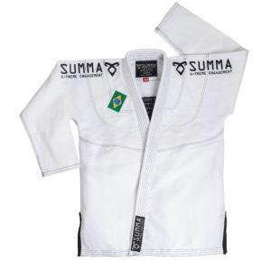 Kimono Blanc fermé